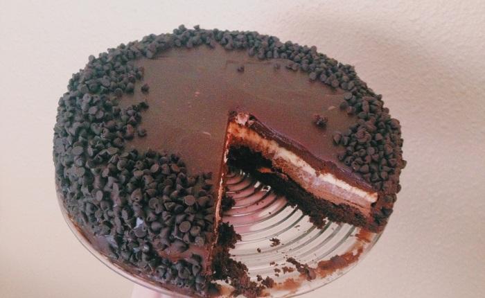 Black Tie Mousse Cake:Recipe